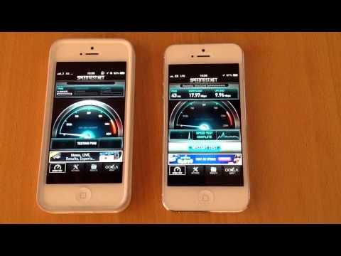 Three uk (dc-hsdpa) vs EE (LTE) speed test
