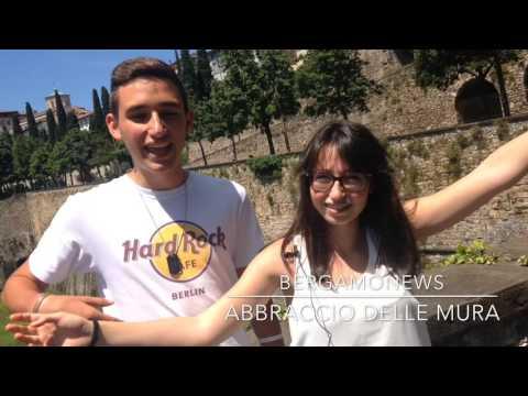 Bergamonews per l'Abbraccio delle Mura
