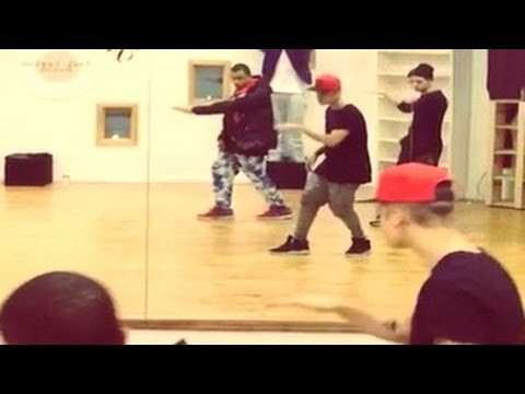 sneak peek new music - Justin Bieber has given fans a sneak peak at his new music and his horrific dance moves. The 19 year old singer shared a behind-the-scenes video on Instagram...