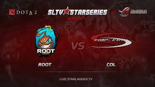 coL vs ROOT, game 1