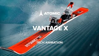 Atomic Vantage X 75 C Skis + Lithium 10 Bindings 2018  5e412943e702
