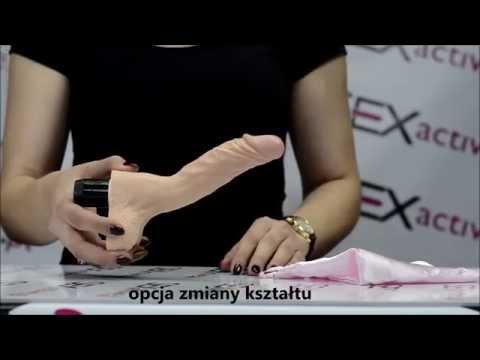 Jeden wibrator wiele kształtów Erotyczna zabawka z sex shopu