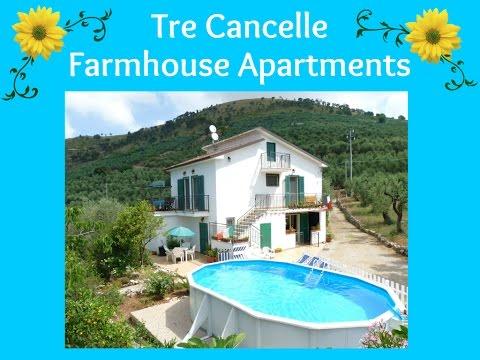 Tre Cancelle Farmhouse Apartments Near Sperlonga and Itri in South Lazio, Italy - 2015