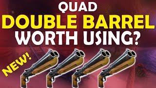 QUAD DOUBLE BARREL SHOTGUN   IS IT WORTH USING? - (Fortnite Battle Royale)