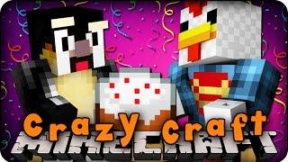 Minecraft Mods - CRAZY CRAFT 2.0 - Ep # 119 'BIRTHDAY PRESENTS!' (Superhero / Orespawn Mod)