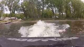 10. 2012 Sea Doo RXP-X 260 RIVA Waterbox and Exhaust in Action