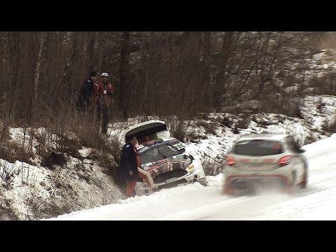 Alexey Lukyanuk - wypadek Rajd Liepaja