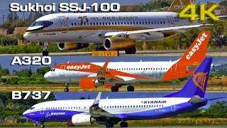 Video Sukhoi SSJ 100 vs  Boeing B737 vs  Airbus A320 MP3, 3GP, MP4, WEBM, AVI, FLV November 2018