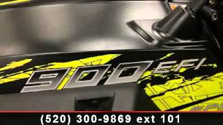 6. 2013 Polaris RZR XP 900 EPS Stealth Black and Evasive Green