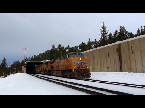 4K: Trains in Northern California Vol. 3: Donner Pass & UP Roseville Subdivision (Roseville-Truckee)