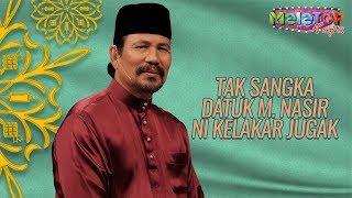 Video Lawak juga Datuk M. Nasir ni bila kena interview   MeleTOP Throwback Raya   Nabil & Neelofa MP3, 3GP, MP4, WEBM, AVI, FLV Agustus 2019