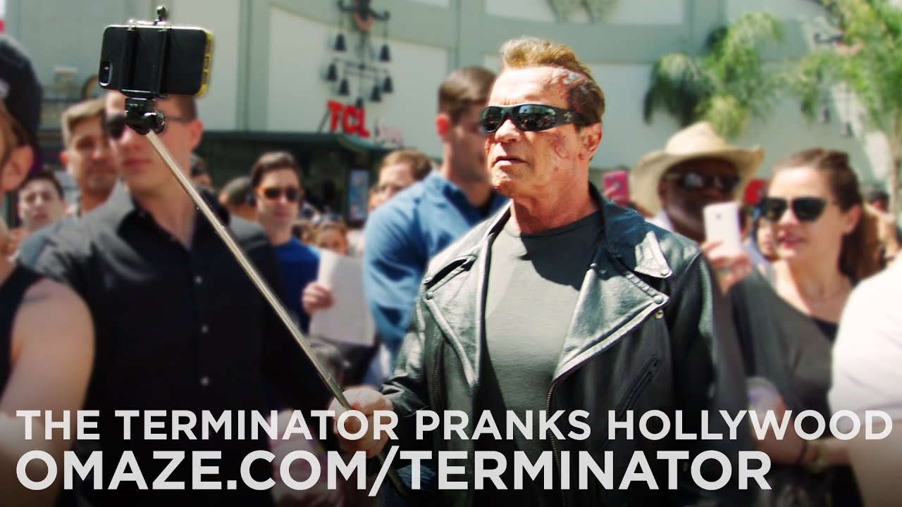Watch: So Funny! Arnold Pranks Fans as the Terminator