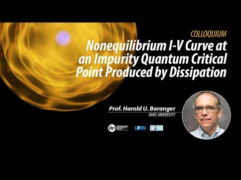 Nonequilibrium I-V Curve at an Impurity Quantum Critical Point Produced by Dissipation - Harold U. B