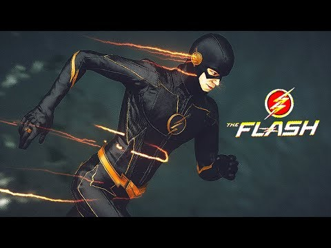 New Barry Allen Black Suit! (faster Than The Speed Of Light)