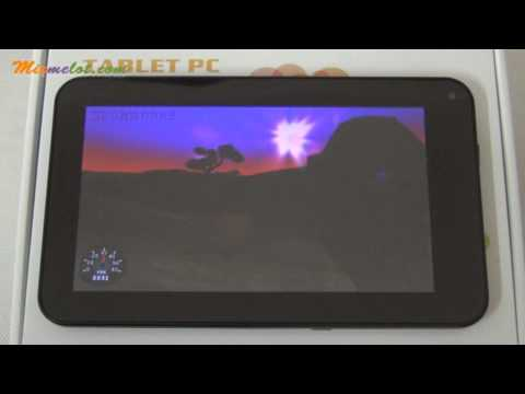 4GB WM 8850 1.2GHz DDR 512MB 7inch Screen Android 4.0 Camera WIFI HDMI MID Tablet PC