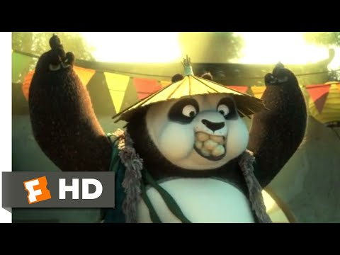 Kung Fu Panda 3 (2016) - Po's Real Dad Scene (2/10) | Movieclips