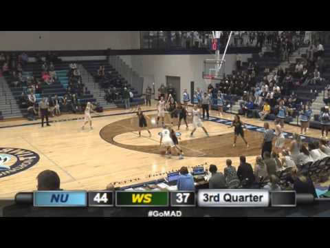 Northwood U. Women's Basketball - Wayne State Highlights (12/3/15)