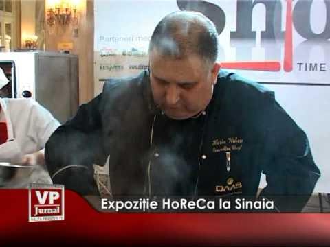 Expoziţie HoReCa la Sinaia