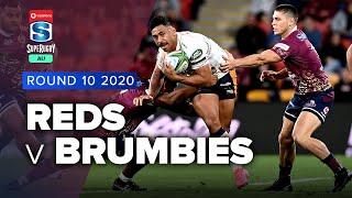 Reds v Brumbies Rd.10 2020 Super rugby AU video highlights | Super Rugby AU Video Highlights