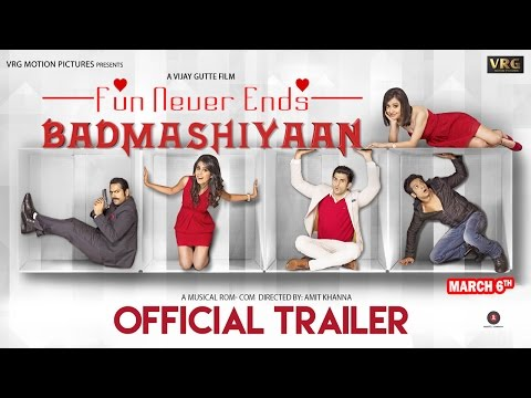 Badmashiyaan Hindi Movie Trailer | Watch Badmashiyaan Exclusive Teaser Online