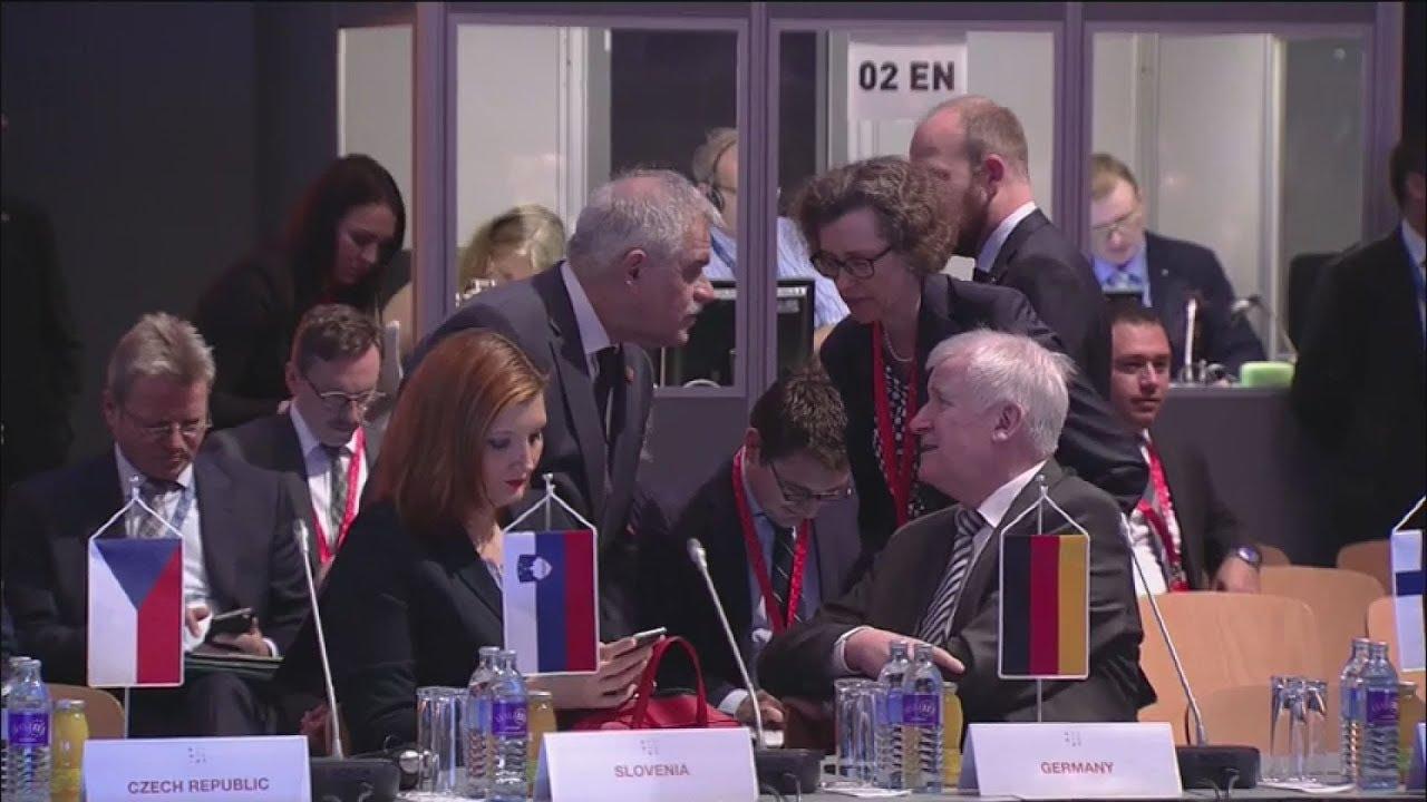 N.Τόσκας, Δημ. Βίτσας στο άτυπο συμβούλιο υπουργών Δικαιοσύνης και Εσωτερικών Υποθέσεων της Ε.Ε