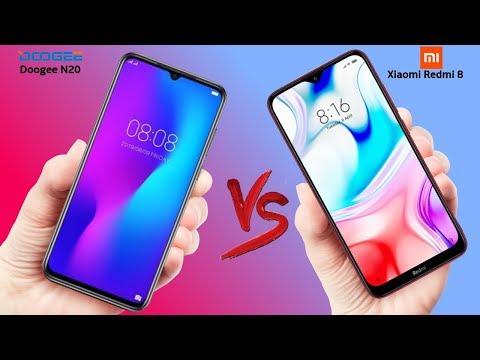 Doogee N20 VS Xiaomi Redmi 8 Comparison