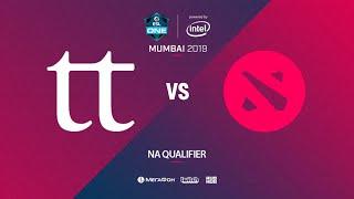 Team Team vs  Team Xolotl, ESL One Mumbai NA Quals, bo3, game 1 [Mila]
