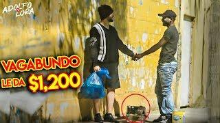 Me Visto de Vagabundo y Le Doy $1200 A Limpiabotas y Pasa Esto!