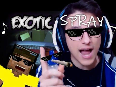 EXOTIC SPRAY!!! -Spray per gli occhiali REMIX!- (video per LorenzIST, di nuovo)