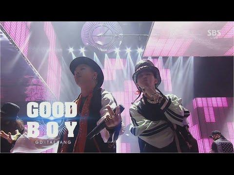 GD X TAEYANG  - 'GOOD BOY' 1214 SBS Inkigayo