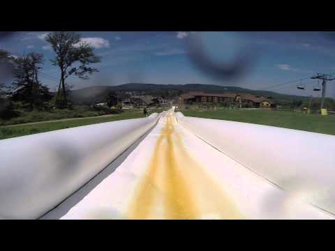 The worlds longest water slide, MAD!