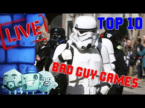 Top 10 Bad Guy Games