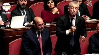 Riforme, ultimo atto in Senato. Dichiarazione di voto M5S (Morra)