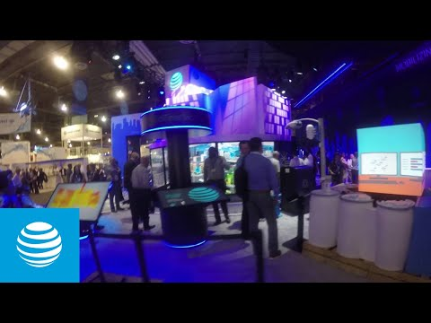 Walkthrough of AT&T Booth at CTIA | AT&T