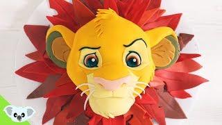 SIMBA CAKE! | The Lion King| Birthday Party Ideas| Cake Art | Koalipops