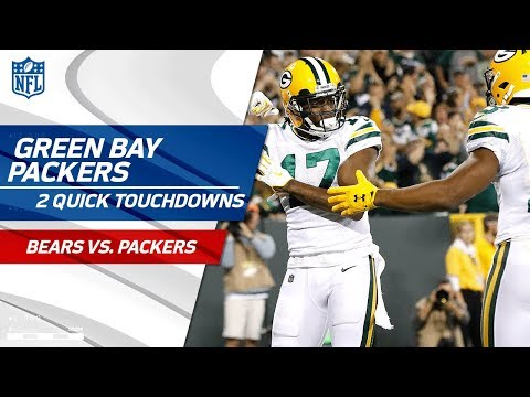 Video: Green Bay Scores 2 TDs in 53 Seconds! | Bears vs. Packers | NFL Wk 4 Highlights