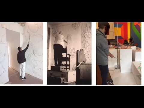 Les tutos de Sabine : dessiner à la manièere de Matisse et de Christian Lhopital  Un atelier à partager en famille pour découvrir l'art autrement.