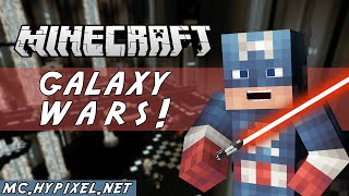 Minecraft Minigame - GALAXY WARS! - STAR WARS MINIGAME! - (with SnakeDoctor)