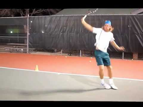 Tennis drills – forehand, backhand, quick feet