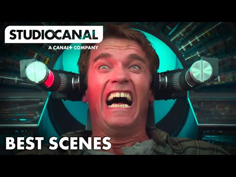 Best Scenes from TOTAL RECALL- Starring Arnold Schwarzenegger & Sharon Stone [4K]
