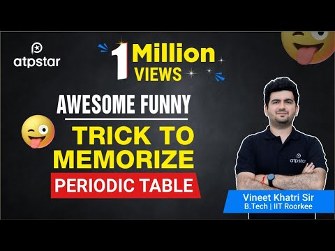 Video Awesome Funny Trick to memorize PERIODIC TABLE download in MP3, 3GP, MP4, WEBM, AVI, FLV January 2017