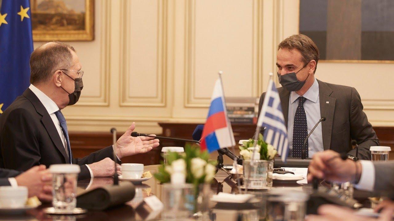 Δηλώσεις Κυριάκου Μητσοτάκη και του Υπουργού Εξωτερικών της Ρωσικής Ομοσπονδίας Sergey Lavrov