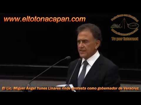 Rinde protesta como gobernador de Veracruz el Lic. Miguel Ángel Yunes Linares.