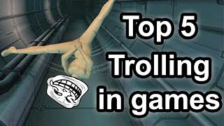 The act of trolling is part and parcel when it comes to video games. From corner-trapping people in multiplayer all the way to ...