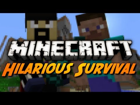Minecraft: Funny Survival Moments w/ Excl!