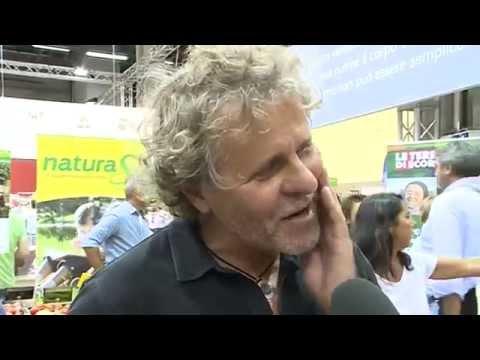 Sana 2014 | Renzo Rosso di Diesel a Sana per NaturaSì, con Claudio Fava e Fabio Brescacin