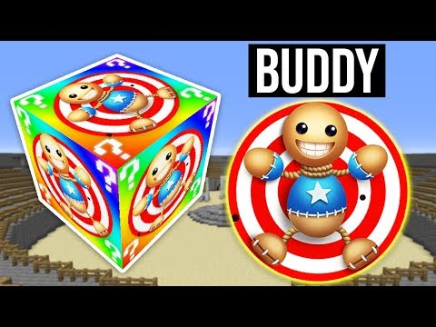 KorkunÇ Buddy Şans Bloklari - Minecraft (kick The Buddy)