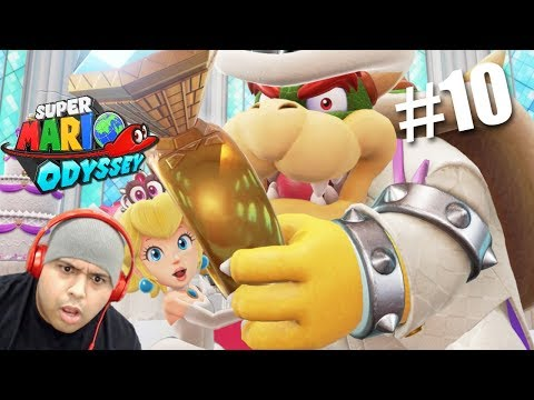 MAH BOYS!! WE CRASHING THE WEDDING! [SUPER MARIO ODYSSEY] [#10]