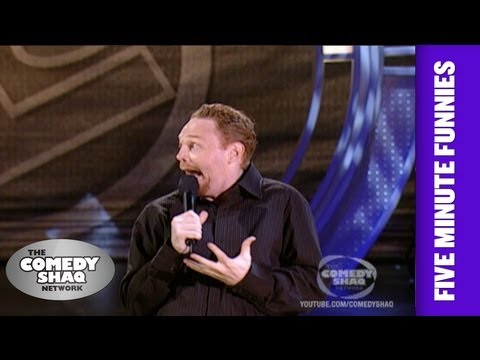 Bill Burr⎢How you know the N word is coming⎢Shaq's Five Minute Funnies⎢Comedy Shaq