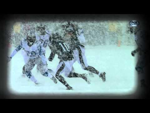 Musical Detroit vs Philadelphia, Nieve en la NFL